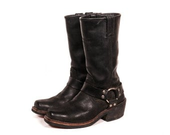 HARLEY DAVIDSON Women's Motorcycle Boots Size 6