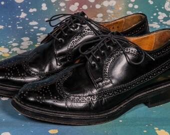 Maraolo Men's WING TIP Dress Shoes Size 9