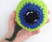 Jack Septic Eye / Crocheted Plush Eye - Made to Order
