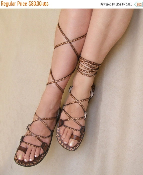 LAST SALE 20% OFF Lace Up  Flat  Sandals - Glory, also available at Free People