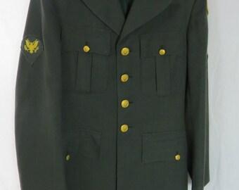 Vietnam War Era US Army 7th Transportation Brigade Uniform Jacket