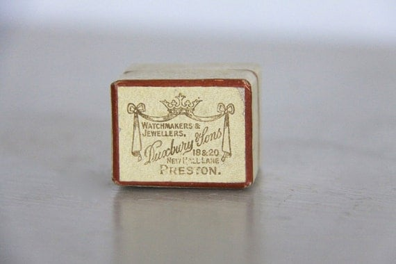 antique ring box engagement wedding ring box by