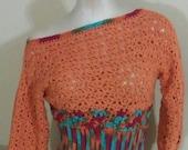 2015 Handmade Crochet Slouch top Only...CUSTOM ORDER Available