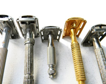 Vintage Gillette Razor Collection