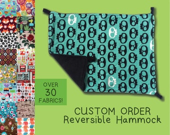 CHOOSE A FABRIC Reversible Hammock