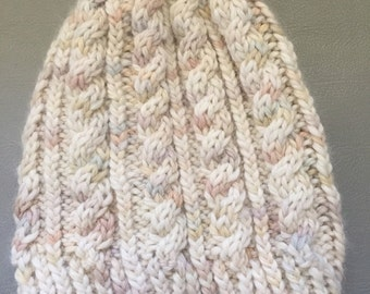 Sale Comfy cable beanie