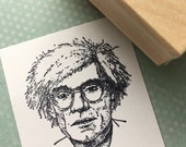 Andy Warhol Rubber Stamp  4517