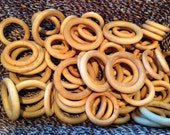 12 Un-perfect Wood Rings Supply DIY