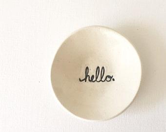 HELLO bowl
