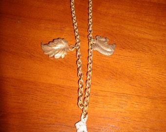 Antiqued Brass Woodland Bracelet
