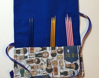 Doctor Who Travel Needle (or Hook)  Cozy
