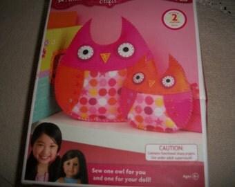 American Girl Craft Kit: Owl Kit