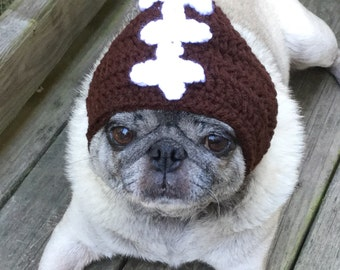 Football Helmet Dog Hat/ Made to Order