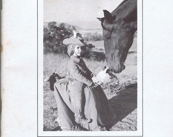 Vintage Jabali Ranch Quarter Horse Dispersal Sale Catalog California 1966 Race Rodeo Animal Breeding