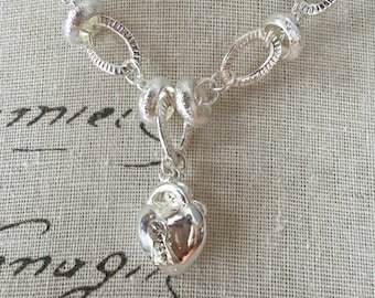 925 sterling silver necklace and bracelet key to my heart great for valentines