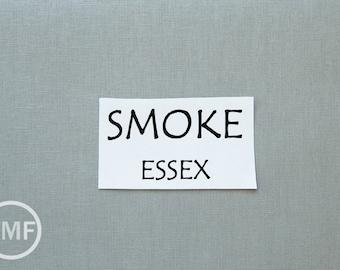 One Yard Smoke Essex, Linen and Cotton Blend Fabric from Robert Kaufman, E014-1713