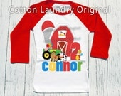 First 1st, 2nd or beyond birthday shirt - Farm yard birthday [any age] Farm Birthday tee shirt | Farm | Old McDonald