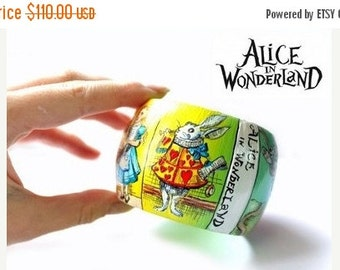 On Sale Alice in Wonderland. Bracelet