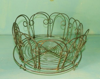 VINTAGE STEAMER BASKET/German