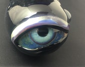 Blue dicro eye pipe