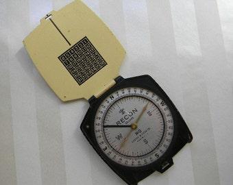 Vintage Keuffel and Esser Co, K&E, RECON, Compass