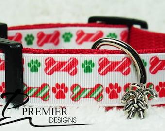 Star's Christmas Dog Collar