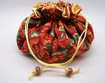 Rose Jewelry Pouch