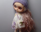 Blythe Sweet, Silk  Spring Dress, Bloomers, Pixie Hat & Accessories (BD1916)