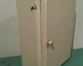 Vintage metal bathroom cabinet, art deco cabinet,  home décor,Industrial décor, Shabby chic cabinet