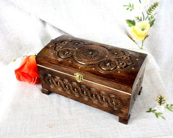 Jewelry box Wooden jewelry box Wedding jewelry box Wooden box Jewelry wooden box Ring box Wedding ring box Jewelry wood box Jewelry ring B30