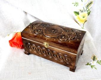 Jewelry box Wooden jewelry box Wedding jewelry box Wooden box Jewelry wooden box Ring box Wedding ring box Jewelry wood box Jewelry ring B30