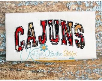 Cajuns Arched