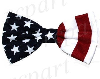 Men's Pre-Tied Bowtie american flag, for special Occasions