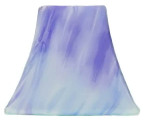 Periwinkle Tie Dye - SLIP COVERS for lampshades