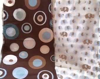 Baby Boy Set of 2 Burp Cloth Set