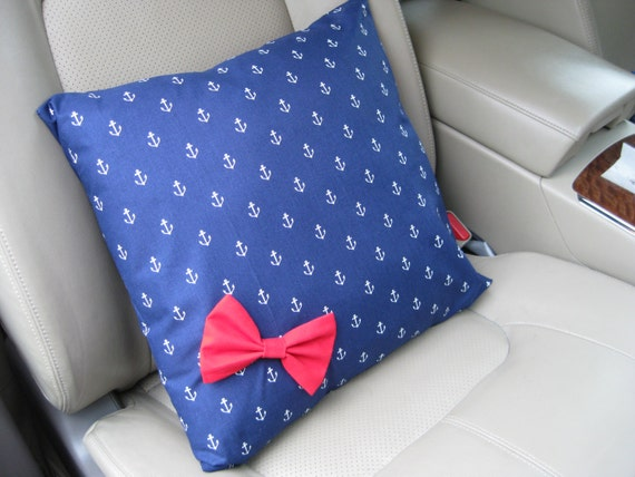 Car Bow Pillow, Custom Made Pillows for Your Car BF11200