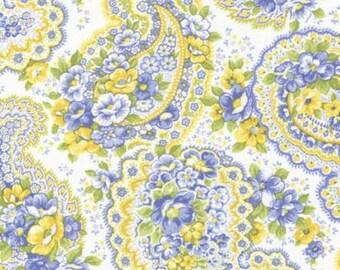 Summer Breeze by Sentimental Studios - Floral Paisley Garden - Natural - Moda 32591 11