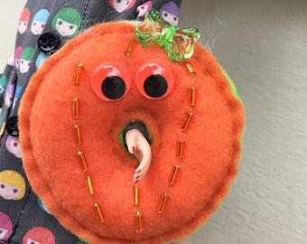 Halloween Donutzie Pumpkin