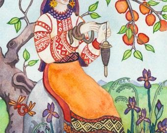 Mokosh Prayer Card