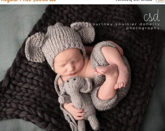Sale Newborn Elephant set, baby elephant