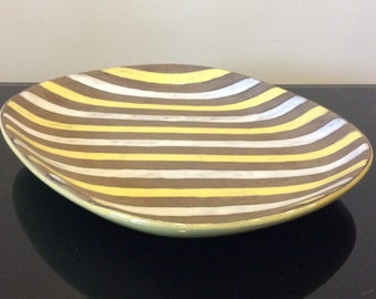 Sweden Pottery Tray designed by Ingrid Atterberg for Upsala Ekeby