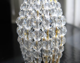 Beaded Light Bulb Covers & Light Bulb Shades by LumiereSF on Etsy