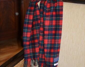Pendleton® Scarf - Christie Tartan Plaid - 12 x 50 - mens or womens fashion accessories - Pendleton® Wool Scarf plaid wool scarf