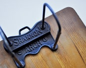 Vintage Shannon Arch Industrial Ring Clipboard