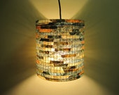 Chandelier Light Lighting Lampshade Lamp Lampada Coffee Filter Art