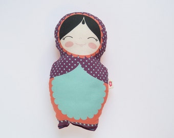 Matryoshka Stuffed Doll