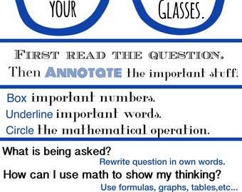 Math Poster :Encouraging Confidence in Math