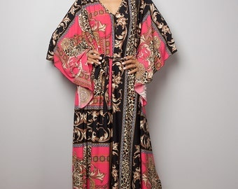 Maxi Dress - Kaftan Kimono Dress : Funky Elegant Collection No.4