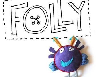 Custom Folly Doll