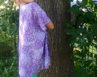 Lavender Fields Child Kimono Poncho Cardigan